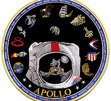 Project Apollo Tribute Logo by Spacestuffplus