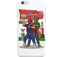 Back To Fight The Koopa iPhone Case/Skin