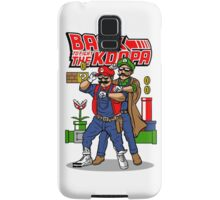 Mario Back To Fight The Koopa Samsung Galaxy Case/Skin