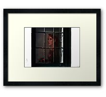 Even for elves ... Framed Print