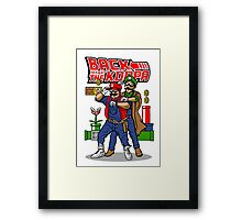 Back To Fight The Koopa Framed Print