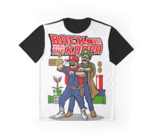 Mario Back To Fight The Koopa Graphic T-Shirt