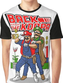 Back To Fight The Koopa Graphic T-Shirt