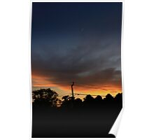 Lisle Night Sky Poster