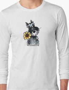 Sunny Schnauzer Long Sleeve T-Shirt