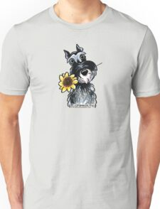 Sunny Schnauzer Unisex T-Shirt