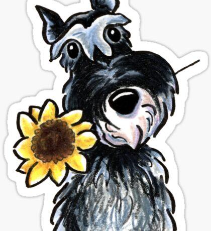 Sunny Schnauzer Sticker
