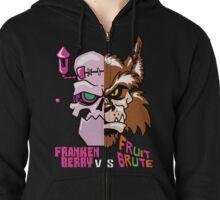 Frankenberry vs Fruit Brute Zipped Hoodie