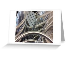 Stacked sheen Greeting Card