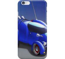 "Grobo-car - ""Hot Rod of the Future"" iPhone Case/Skin"