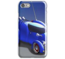 "Grobo-car - ""Hot Rod of the Future"" iPhone Case/Skin"
