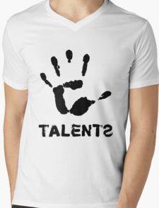 5Talents (black) Mens V-Neck T-Shirt