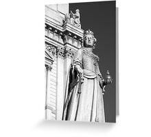 Queen Anne 1 B&W Greeting Card