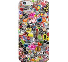 Stickerbomb iPhone Case/Skin