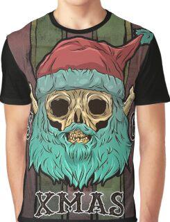 SANTA CLAUS SKULL XMAS Graphic T-Shirt