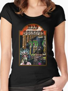 MAD SCIENCE Women's Fitted Scoop T-Shirt