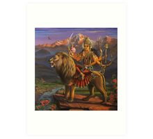 Shree Durga Art Print