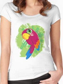 Parrot Women's Fitted Scoop T-Shirt