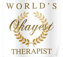 World's Okayest Therapist Poster