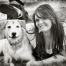 Zoey and Gabby by KBritt