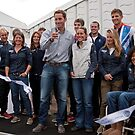 Olympic &amp; Paralympic medal winners open the PSP Southampton boat show 2012 by Keith Larby
