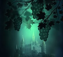 Castle and Grapes by Svetlana Sewell