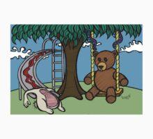 Teddy Bear And Bunny - The Playground T-Shirt