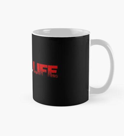 Gothic.Life Logo (White & Red) Mug