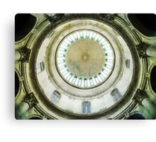 Singapore National Museum's Domed Ceiling Canvas Print