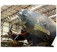 Handley Page Halifax III Poster
