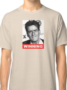 Charlie Seen x WINNING! (Official RED Normal Style Text) Classic T-Shirt