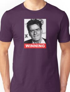 Charlie Seen x WINNING! (Official RED Normal Style Text) Unisex T-Shirt