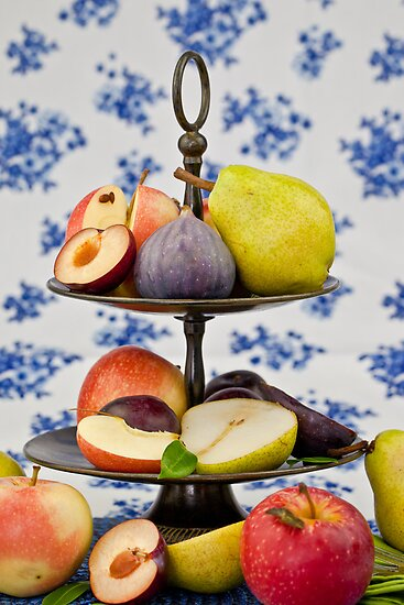 Autumn Fruits by Barbara Neveu