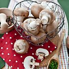Hearty Mushrooms by Barbara Neveu