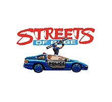 STREETS OF RAGE POLICE SUPPORT  Photographic Print