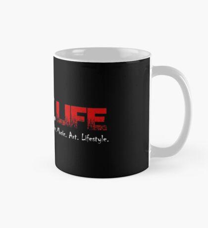 Gothic.Life Black (with tagline) Mug