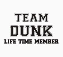 Team DUNK, life time member by cynthiav