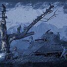 Twilight attack by Steve  Woodman