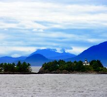 Guard Island Light Lighthouse in Clarence Strait Alaska by NSauer01