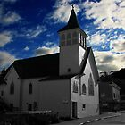 White Chapel Church Building In Ketchikan Alaska by NSauer01