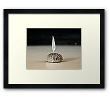 tillie's candle Framed Print