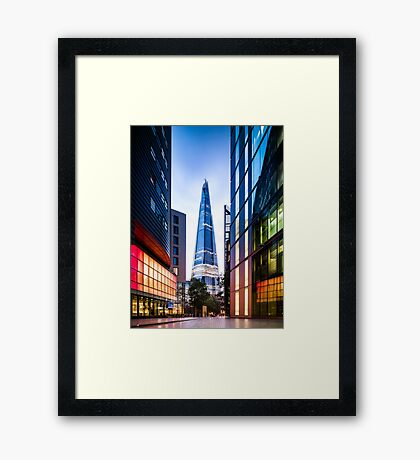More Shard Framed Print