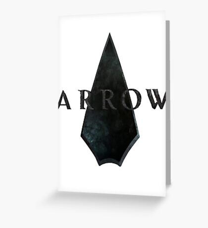 Arrow Season 1 Greeting Card
