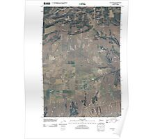 USGS Topo Map Washington State WA Luna Butte 20110407 TM Poster