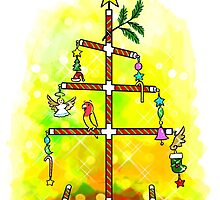 My Christmas Tree by lifewithbirds
