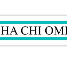 AXO Bars Sticker