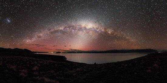 Crown Jewels above Lake Tekapo by Alex Cherney