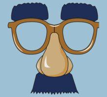 Groucho Marx glasses Baby Tee
