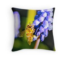 Grapes for lunch Throw Pillow