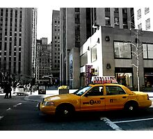 NYC Taxi Photographic Print